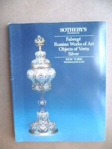 Catalogue-SOTHEBY-039-S-New-York-Items-Vertu-Silver-Faberge-Art-Russian