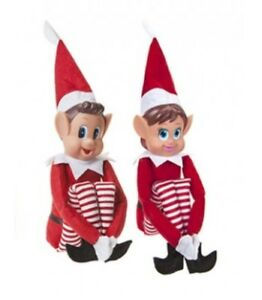 Christmas Elf On The Shelf Images.Details About 1 X Jumbo Giant Naughty Christmas Elf Shelf Traditional Red White 66cm Long