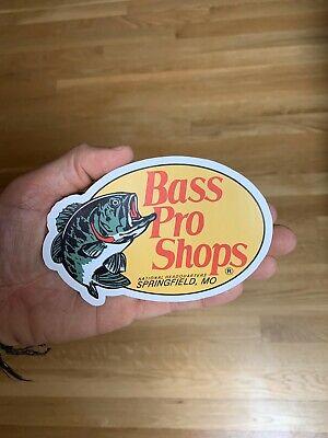 Pêche Sticker Autocollant Voiture Pare-chocs Fenêtre environ 12.70 cm Bass Pro Shop Large 5 in