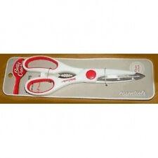 "Betty Crocker kitchen shears Scissors 8.5"" stainless steel, white/red"