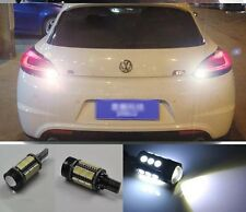 For vw Scirocco 2008-2015 2x White Error Free LED Reverse Back up Lights Bulbs
