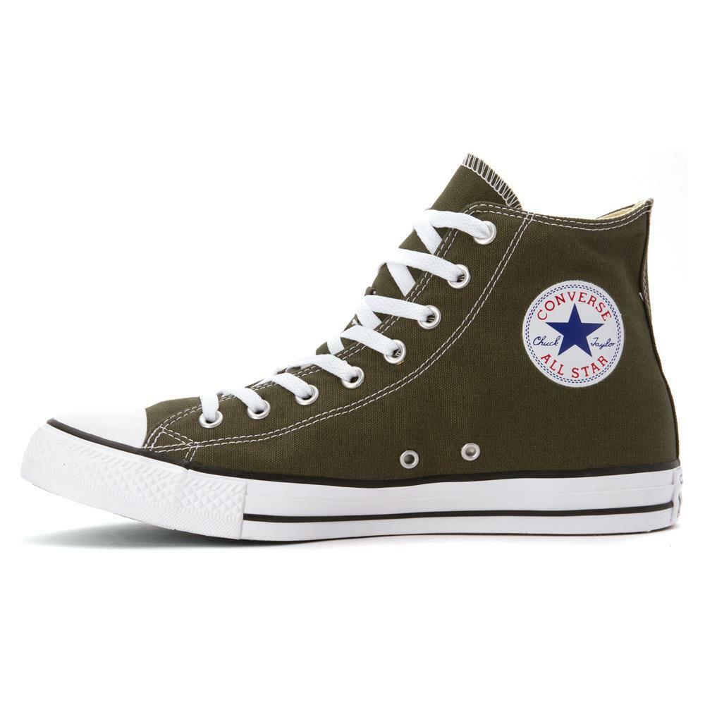 CONVERSE CT HI AS CANVAS CHUCK TAYLOR ALL STAR CANVAS AS 151175F HERBAL GREEN/Weiß a55531