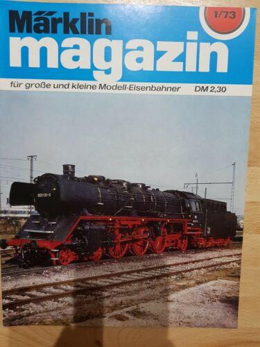 Märklin Magazin 1973  Ausgabe 01//02//03//04//05//06//07//08//09//10//11//12