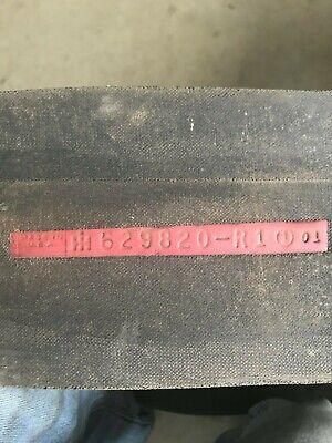INTERNATIONAL HARVESTER 197412C1 Replacement Belt