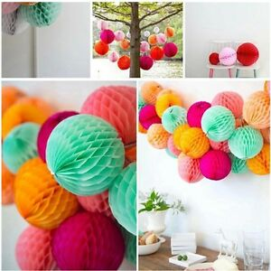 5Pcs-Tissue-Honeycomb-Paper-Pompom-Pom-Poms-Hanging-Garland-Wedding-Party-Decor