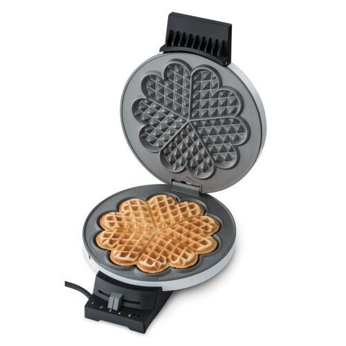Cloer arma silenzioso 181 Waffle cuore bianco con campanello 930 WATT NUOVO