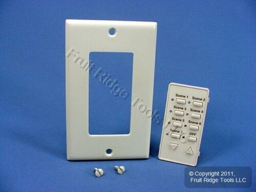 Leviton Almond Faceplate Color Change Kit for Controller Dimmer Switch DCKS7-A