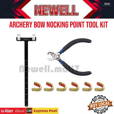 Nocks Pro Archery Nocking Pliers Pro Bow Square Bowstring Silencer