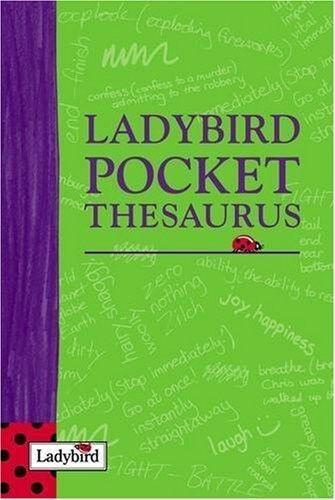 Excellent, Ladybird Pocket Thesaurus, Ladybird Books Ltd, Book