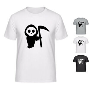 Details about CUTE GRIM REAPER deaths funny cool T-shirt for men & women  (XS to XXL)