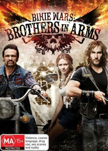 1 of 1 - BIKIE WARS - BROTHERS IN ARMS (DVD, 2012, 2-Disc Set) MINT CONDITION (REGION 4)
