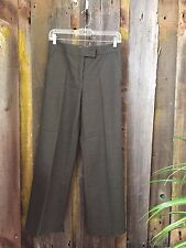ETRO Wool Forest Green Casual Dress Pants Size 40 Fast Same Day Shipping!