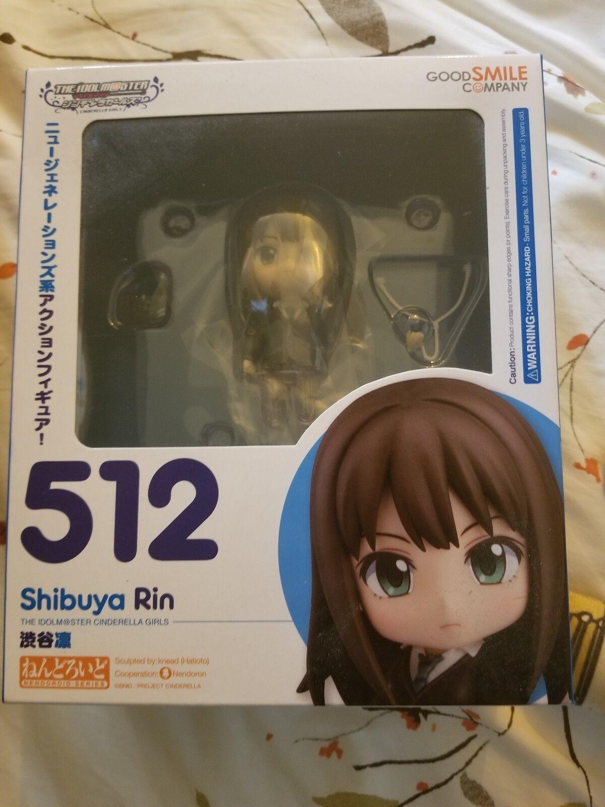 Idolmaster Cinderella Girls  Rin Shibuya Nendgoldid Action Figure