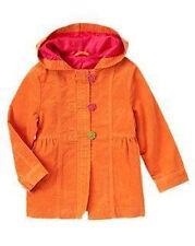 GYMBOREE Fall for Autumn Orange Toggle Corduroy Coat Girls M 7 - 8 new