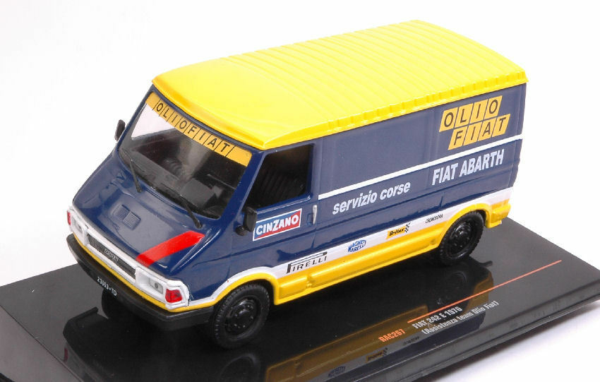 Fiat 242e Olio Fiat 1976 Rally Service 1 43 Model RAC267 IXO MODEL