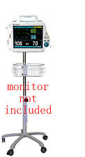 Rolling Stand For Mindray Pm 8000 Dpm4 Patientveterinary Monitor Small Wheel