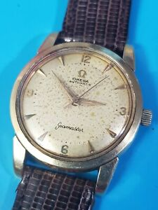 Omega-Seamaster-Automatic-Ref-2846-2848-Cal-500-Mens-vintage-1956-34mm-watch