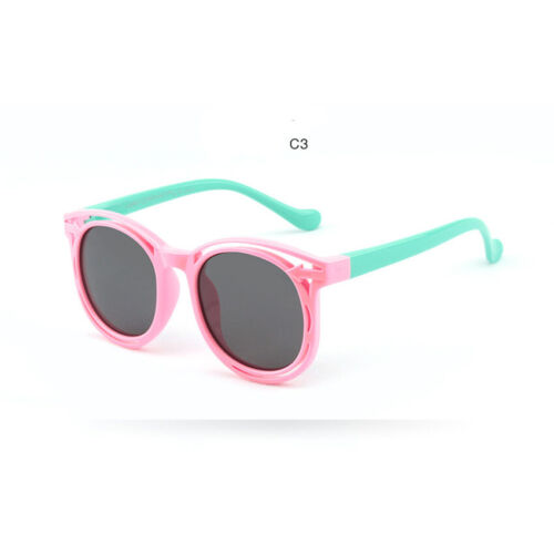 Children Glasses Kid Flexible Frame Polarized Sunglasses UV400 Girl Korean Style