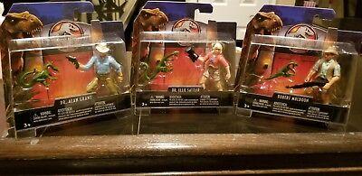 Details about  /Jurassic World 2 Fallen Kingdom Legacy 3 Movie Figure Lot Sattler Grant Muldoon