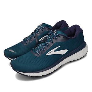 Brooks-Adrenaline-GTS-20-Blue-Navy-White-Grey-Men-Running-Shoe-Sneaker-110307-1D