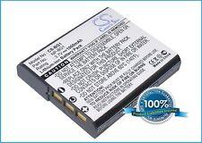 BATTERIA per Sony Cyber-Shot dsc-w120/p Cyber-Shot dsc-w210 Cyber-Shot dsc-h3/b