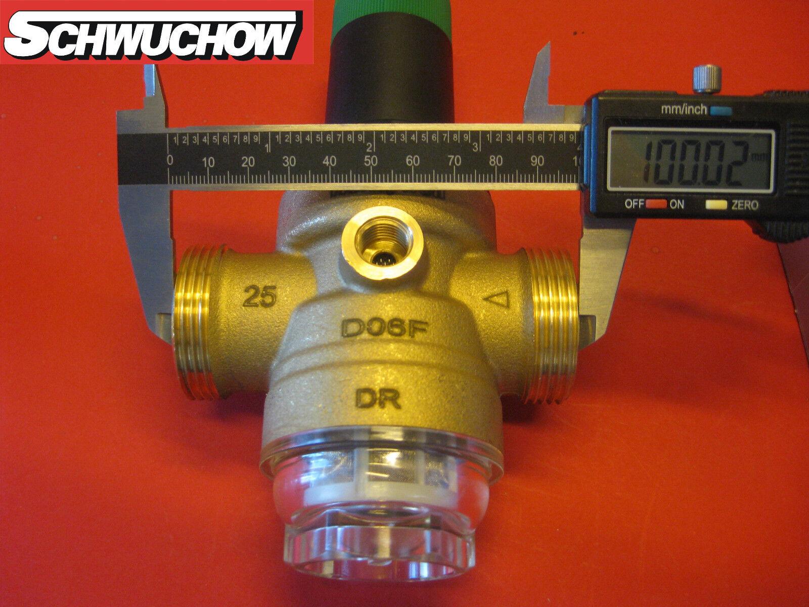 """2 /"""" mit  oder ohne Manometer Größe 1//2/"""" Honeywell  Druckminderer D06F"""