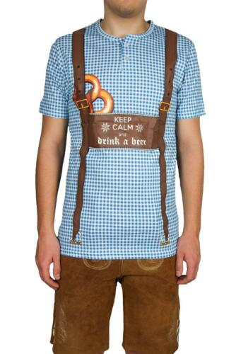 2XL Varianten Trachtenshirt Trachtenhemd Trachten Shirt M