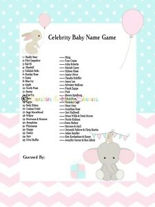 Unique Baby Shower Game Ideas - goodhousekeeping.com