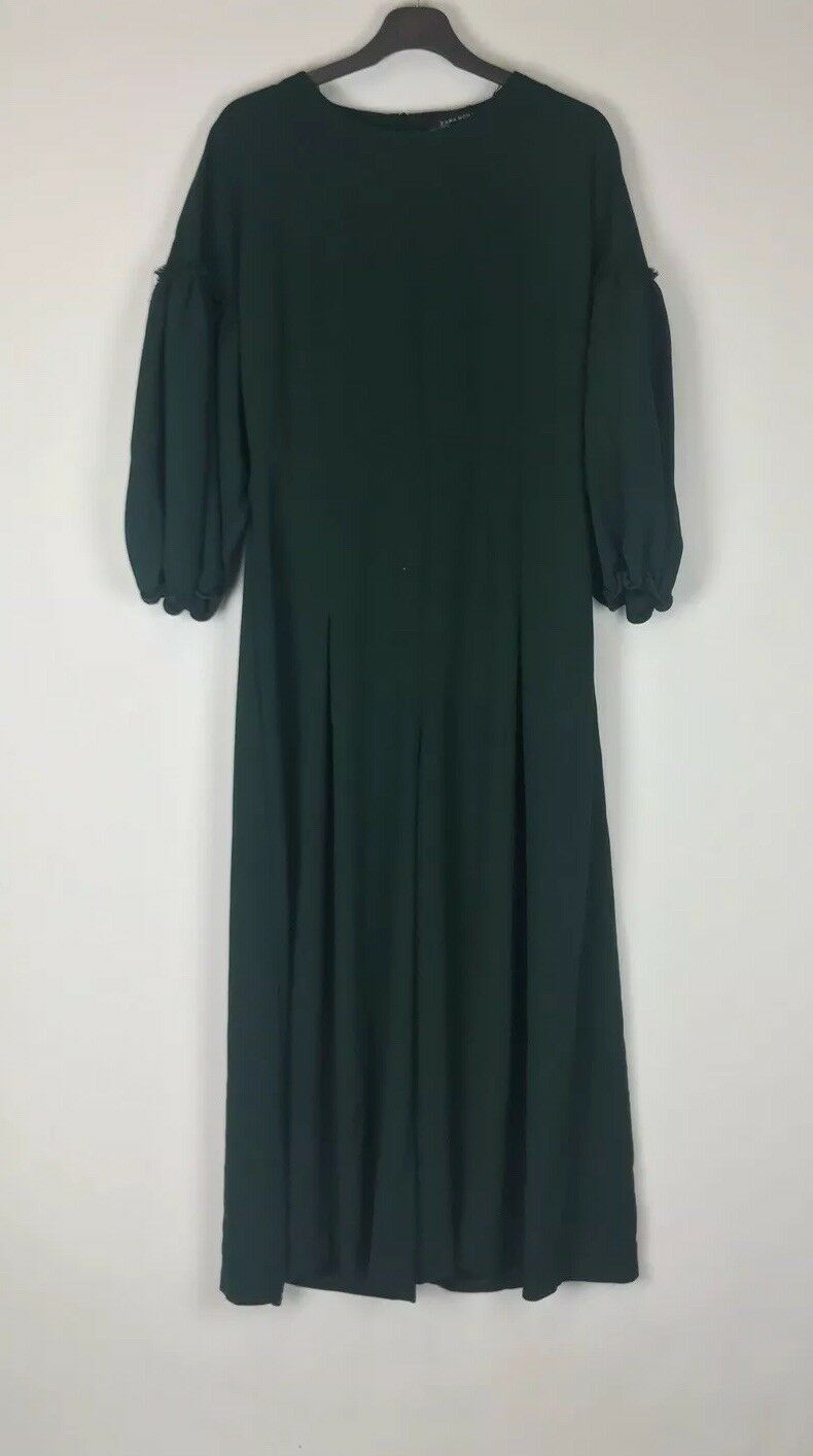 ZARA Size Med Emerald Green Playsuit, Jumpsiut BNWT