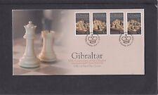 Gibraltar 2012 International Chess Festival First Day Cover FDC Gib special pmk