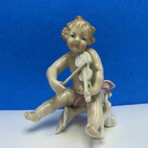 Karl Ens Volkstedt Cherub naked putti antique figurine W