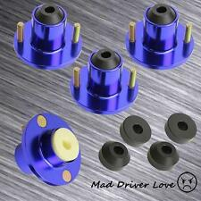 1988-2000 HONDA CIVIC, ALL DEL SOL, CRX COILOVER SHOCK TOP MOUNT TOP HAT BLUE