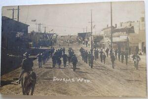 "1904-18 Unused RPPC ""Douglas, Wyo, 1910."""