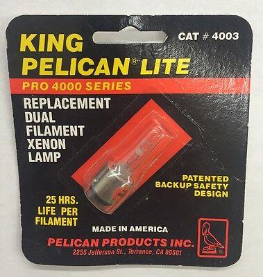 Genuine Pelican 4003 KingLite 4000 Xenon Lamp Module Bulb
