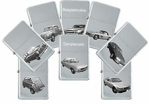 Sturm Lighter With Genuine Engraving: Car Models Brand Ford Eu - Petrol Lighter