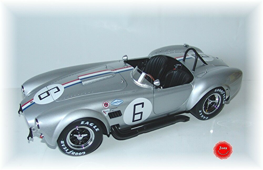 Kyosho kyo8632s0 1 12 Shelby Cobra 427s  C - argento Racing verde