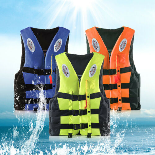 Erwachsene//Kinder Herren Damen Rettungsweste Schwimmweste Life Schwimmhilfe