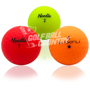 24-Assorted-Matte-Color-Mix-AAA-3A-Used-Golf-Balls