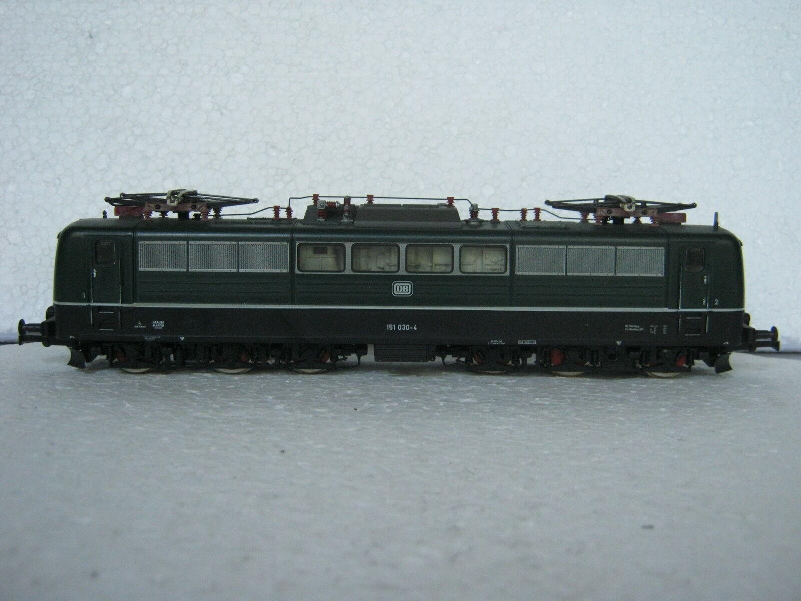 Fleischmann HO 4380 E-LOK BR 151 030-4 DB Green (rg cb 092-45s4 44)