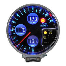 """5"""" Auto LED Drehzahlmesser RPM Wasser Temperatur Öldruck Voltmeter Instrument"""