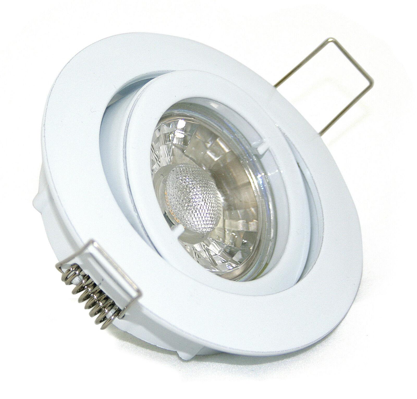 Feuchtraum Deckenstrahler Aqua IP44 IP65 inkl 5W LED LM EEK A K92146 GU10