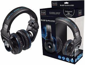 Hercules-HDP-M1001-Professional-DJ-Headphones-with-Style-amp-Comfort-Brand-New