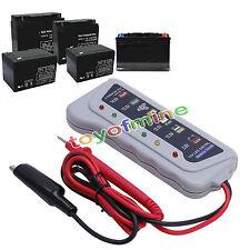 12V 6 LED Display Battery Tester Car Batter / Alternator Monitor Device