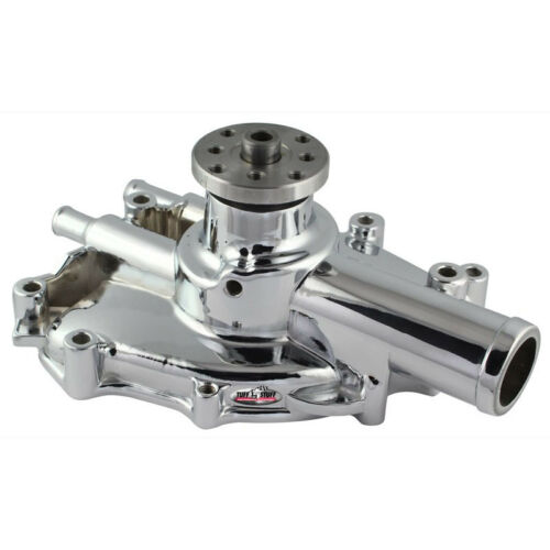 Tuff Stuff Water Pump 1625NG; High Volume Chrome Aluminum for Ford 302//351W SBF