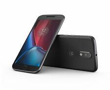 New Motorola Moto G Plus 4th Gen XT1644 16GB Factory Unlocked Black Smartphone