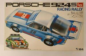 LS PORSCHE 924S RACING RALLY MARTINI MOTORIZED 1/24 MODEL KIT