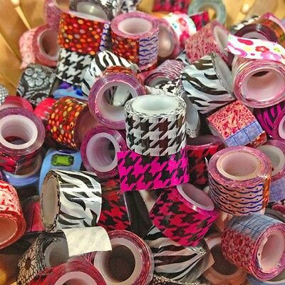 10pcs Mini DIY Paper Sticky Adhesive Sticker Decorating Tape Wholesale