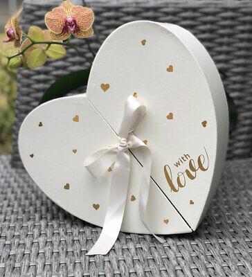 x 8 x 6.5 L BBJWRAPS Heart Shaped Flower Box with Lid for Arrangements Luxury Florist Delivery Gift Paper Mache Boxes-9 H Black W