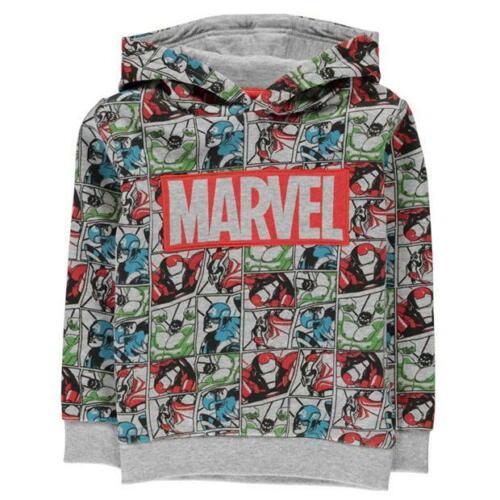 92-152 Marvel Avengers Jungen Sweatshirt Hoodie Kapuze Gr