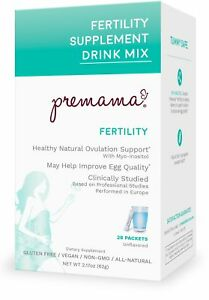 0b389da71 Image is loading Premama-Fertility-Reproductive-Powdered-Drink-Supplement -28-Count-